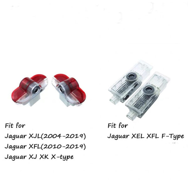 Jaguar xf door lights