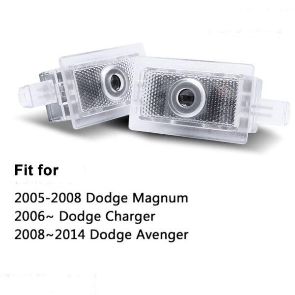 dodge door lights