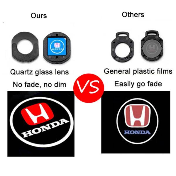 honda logo door lights