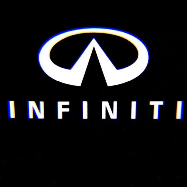 infiniti door light logo