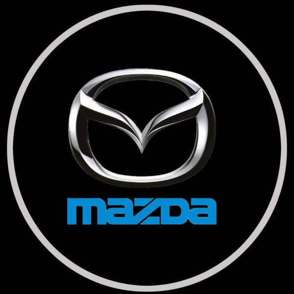 mazda door lights projector