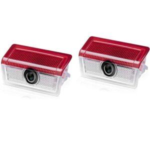 mercedes benz door projector lights