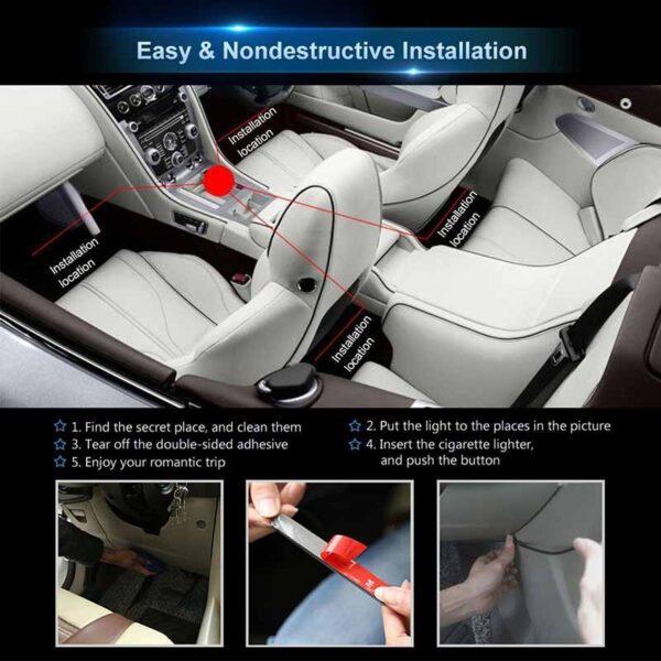 install led interior car lights