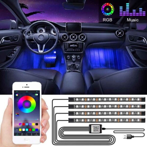 led ambient lighting car