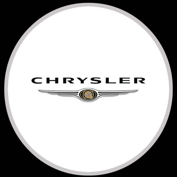 chrysler logo door lights